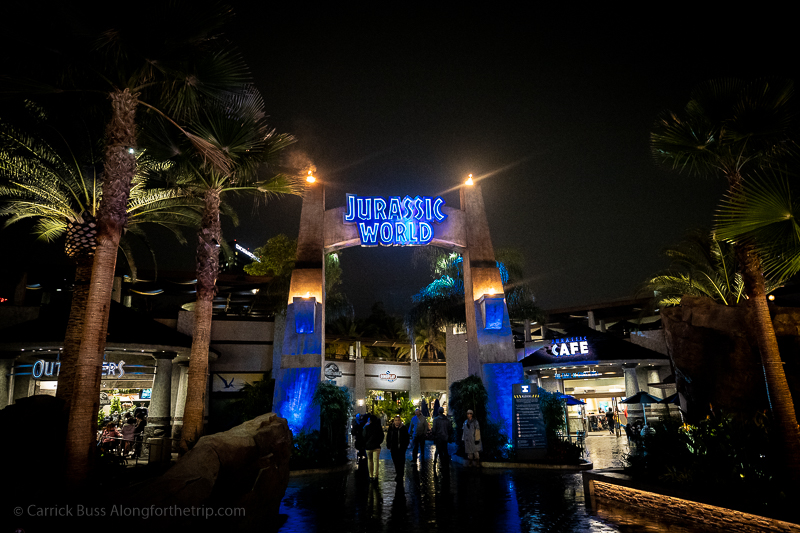 Jurassic World - one of the best attractions at Universal Studios Hollywood