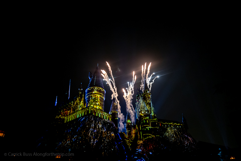 Christmas in The Wizarding World of Harry Potter at Universal Studios Hollywood