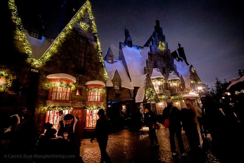 Harry Potter Christmas Universal Studios Hollywood