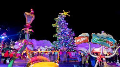 Universal Studios Hollywood Grinchmas