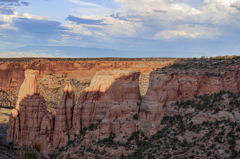 Historic Rim Rock Drive in Colorado National Monument