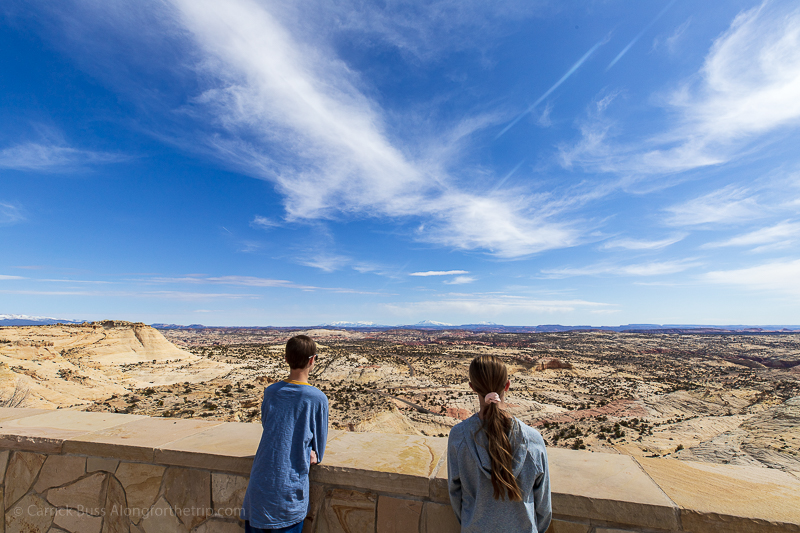 Exploring Grand Staircase-Escalante National Monument with kids