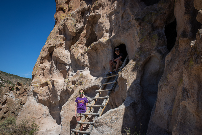 Bandelier National Monument Cliff Dwellings