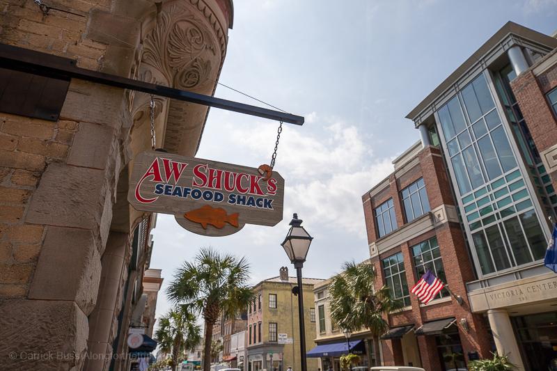 AW Shucks downtown Charleston