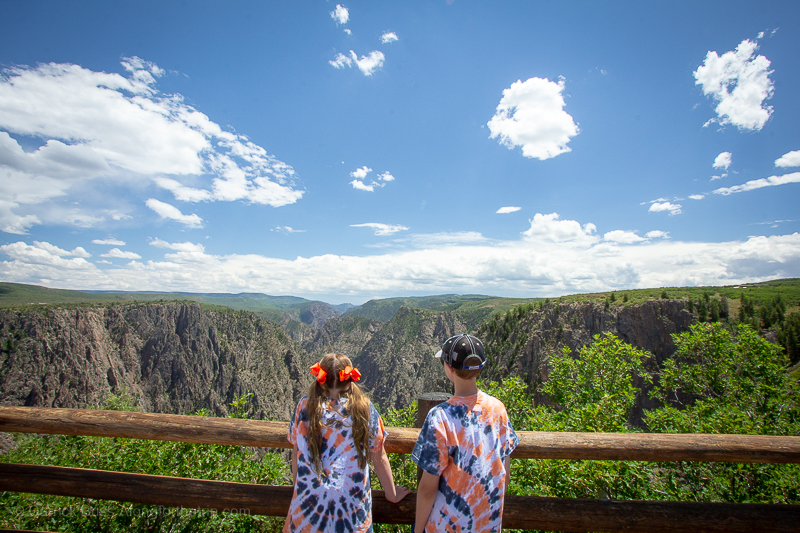Black Canyon of the Gunnison National Park Colorado