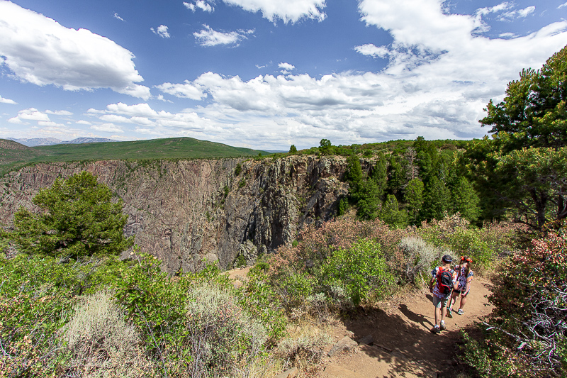 Black Canyon of the Gunnison hikes