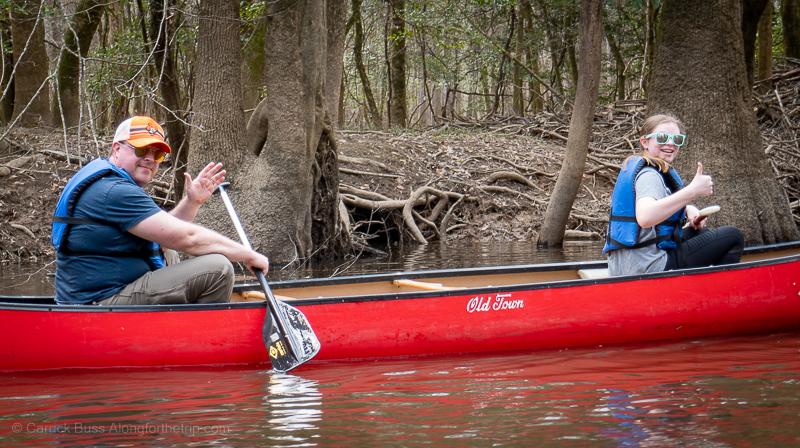 kayak Congaree National Park
