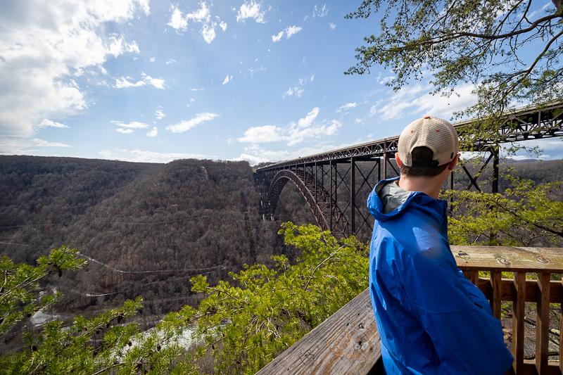 New River Gorge Bridge Walk and Overlook