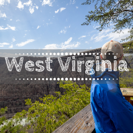Family travel West Virginia with kids