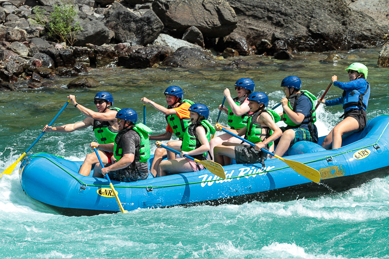 Flathead River Rafting - Things to do near Glacier National Park