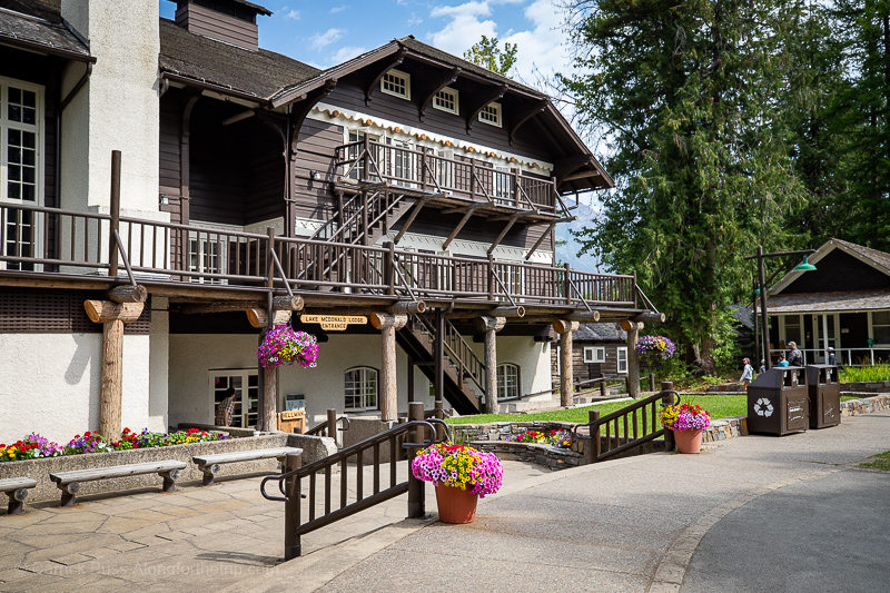 Lake McDonald Lodge best places to stay in Glacier National Park