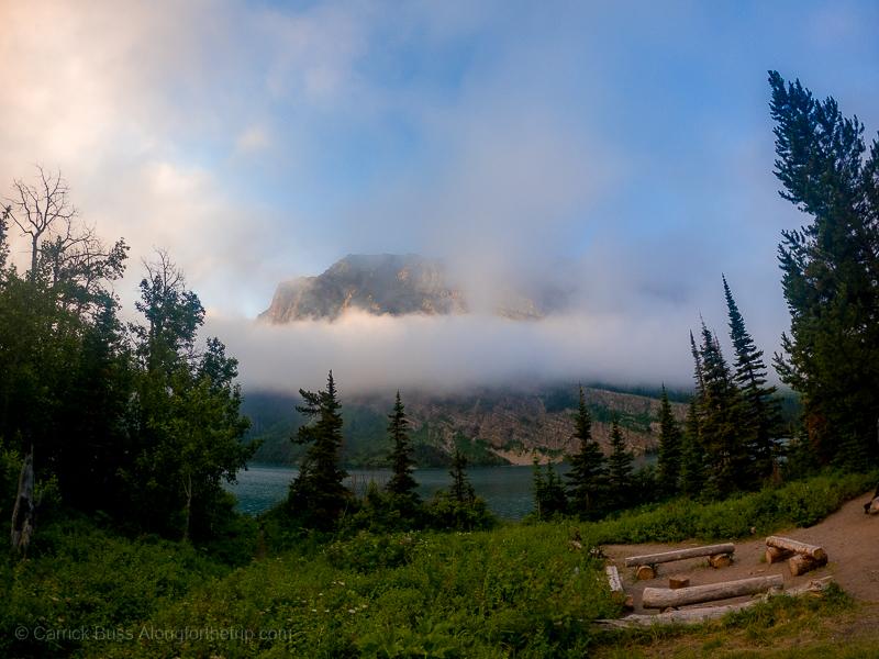 Camping at Glacier National Park