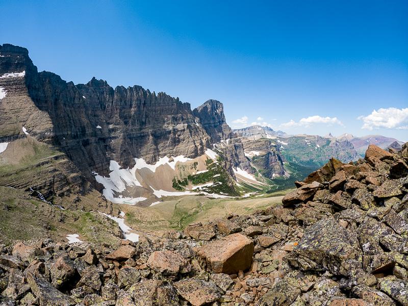 Best hiking in Glacier National Park Piegan Pass