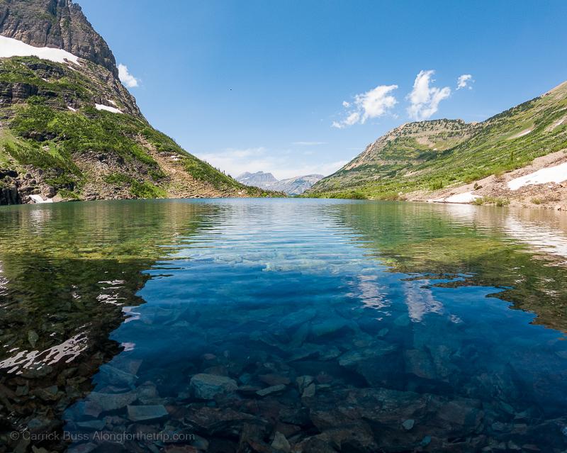 Stoney Indian Lake best hike Glacier National Park